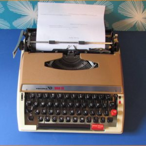 Brown Vendex Typewriter