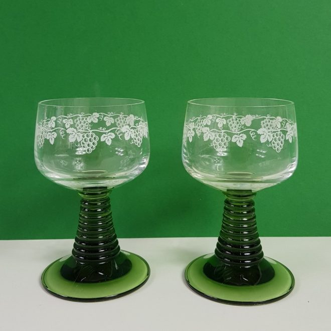 German green wineglasses