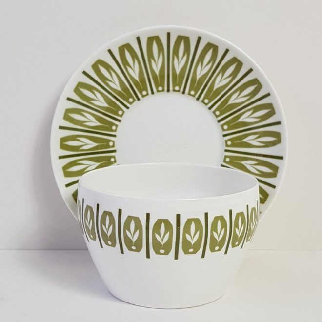 Shelly china bowl and saucer